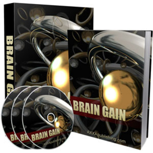 Product picture Brain Gain Audio Ebook Private Label Resell Rights PLR